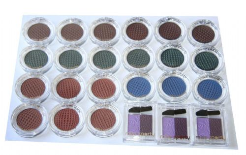 24 x Miss Sporty Studio Colour Mono Eyeshadow | Assorted Shades | RRP £48